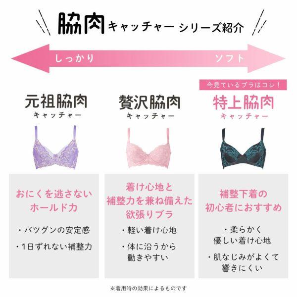 特上脇肉キャッチャーサイズ表